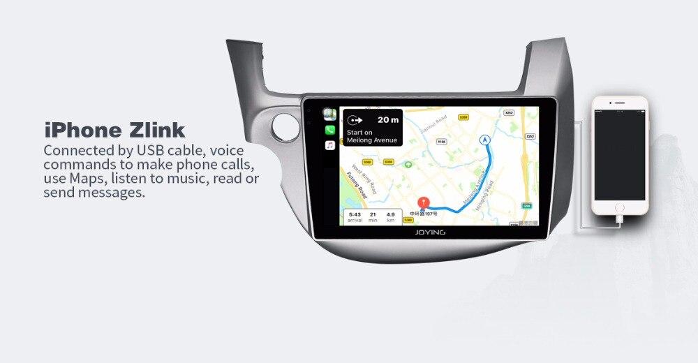 ホンダフィット JOYING GPS 2009-2013 8