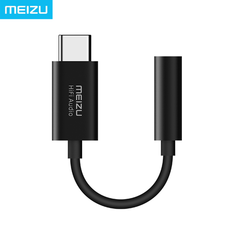 Meizu Fone De Ouvido Amplificador HiFi lossless DAC-Tipo C para 3.5mm audio adapter CS43131 Cirrus Logic Chip 600ou PCM 32bit/384 k DSD 128