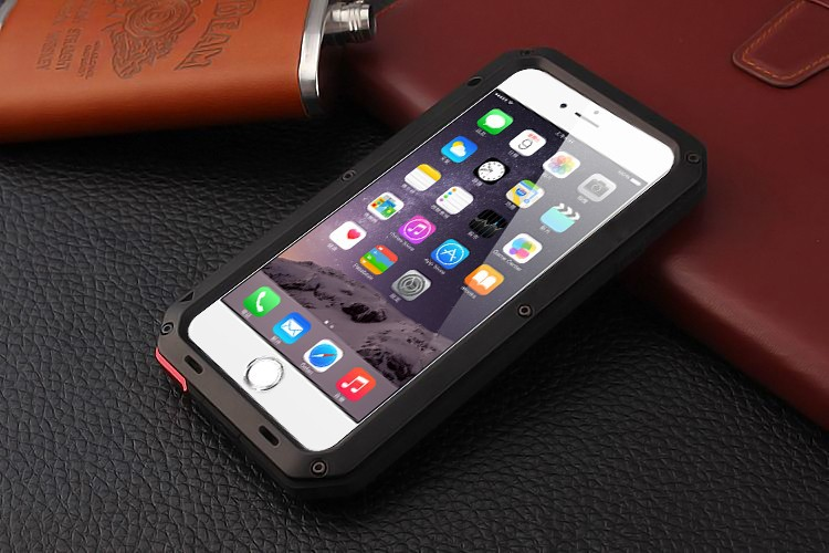 Shockproof Coque Aluminum Metal bumper Frame Glass Cover On For iphone X XR XS MAX 5S SE 6s 7 8 plus Case in Fitted Cases from Cellphones Telecommunications