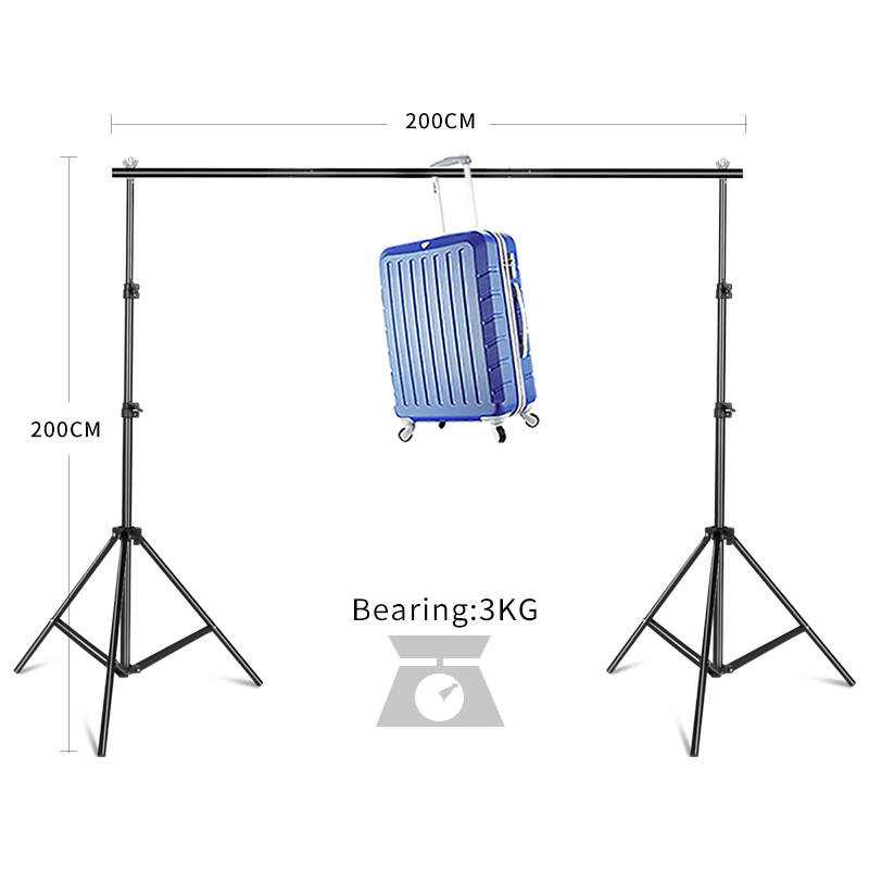 High Quality 6 5FT 6 5FT 2 2m Studio Professinal Photography Photo Backdrops Background Support System