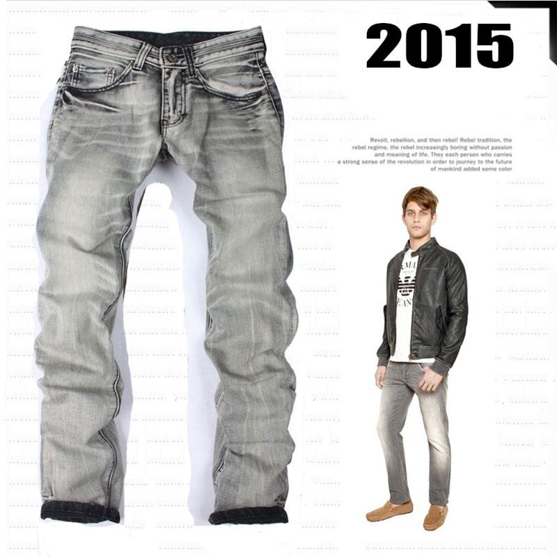Italian Famous Brand Men S Jeans Gray Color Printed Jeans Men Casual Pants Fashion Designer Ripped Jeans 100 Cotton Wholesale Jeans 2 Cotton Miniskirtcotton Stock Aliexpress
