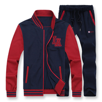 135kg Can Wear 7XL 8XL Large Size Loose Men Hoodies Suits Baseball Style Sweater Set Thermal