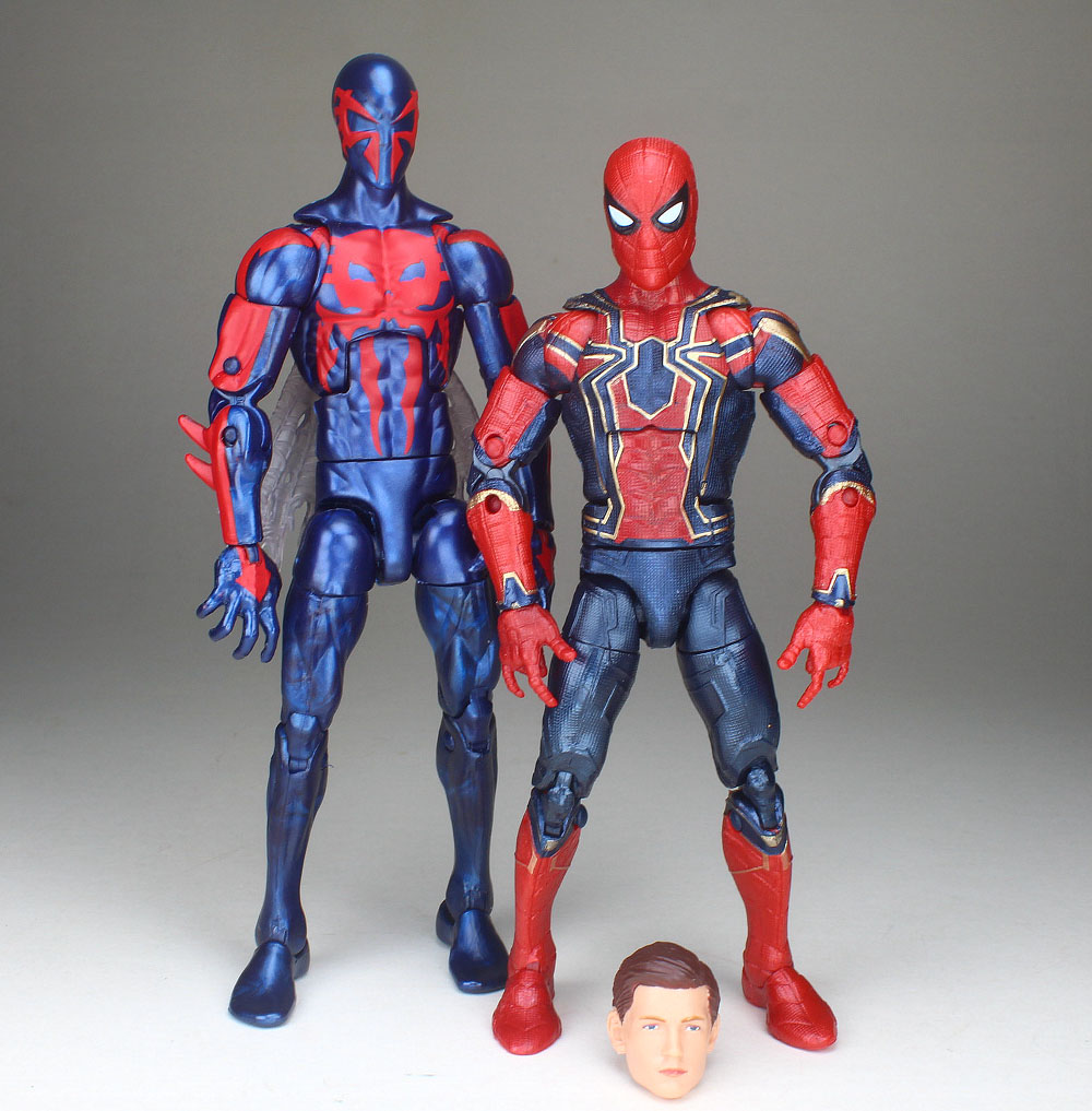 Marvel Legends Avengers Infinity War Spiderman Tom Holland Tony Stark Figure
