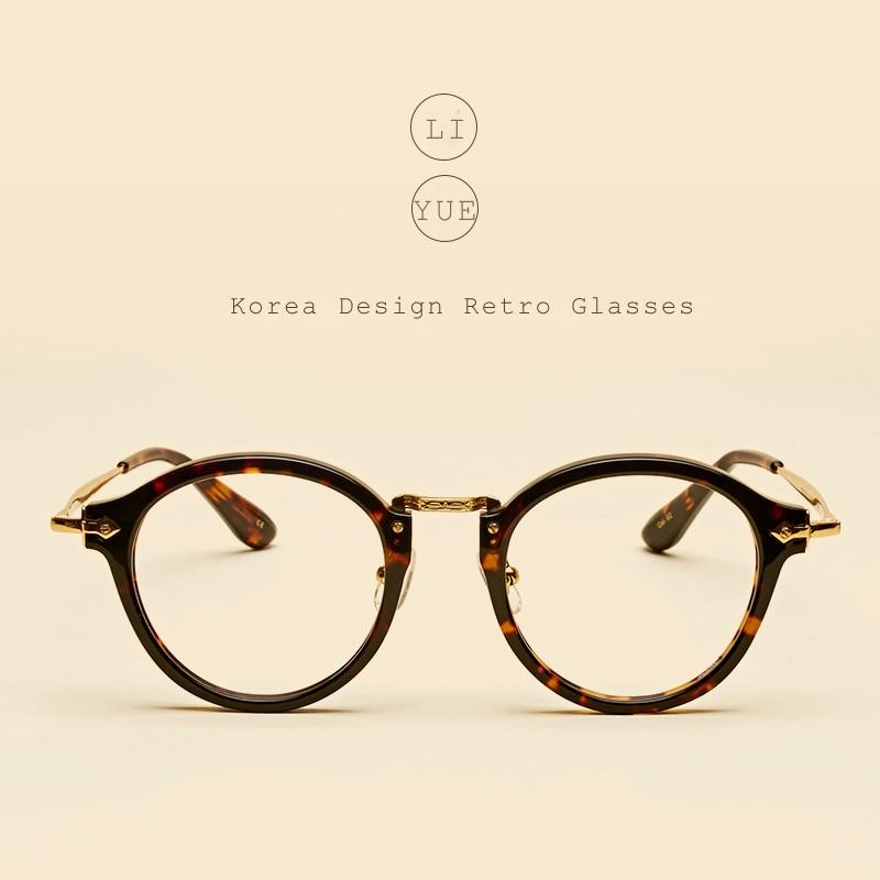 LIYUE Vroča prodaja Ovalna očala z jasnimi lečami Modni Retro - Oblačilni dodatki - Fotografija 1