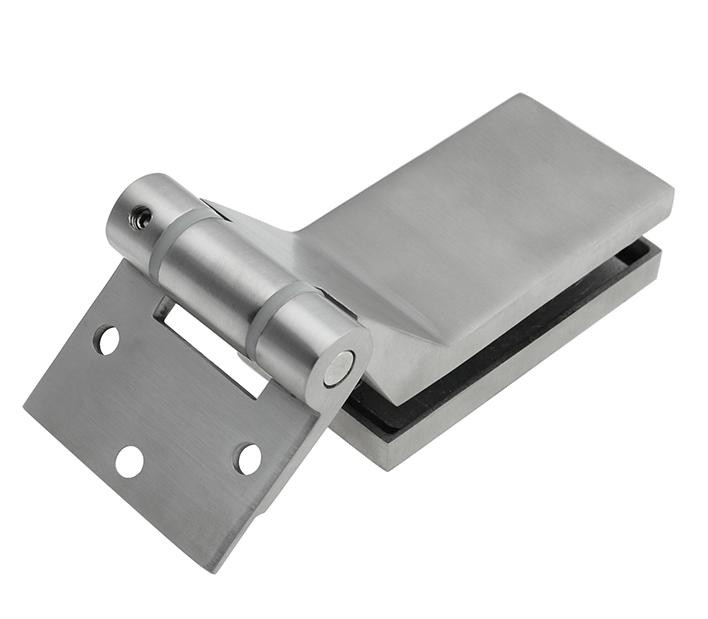Stainless Steel Furniture Glass Clamp   bathroom accessories office partition hinge unidirectional stainless steel glass door hinge bathroom clip shower room hinge glass clamp household hardware 90 degree hinge