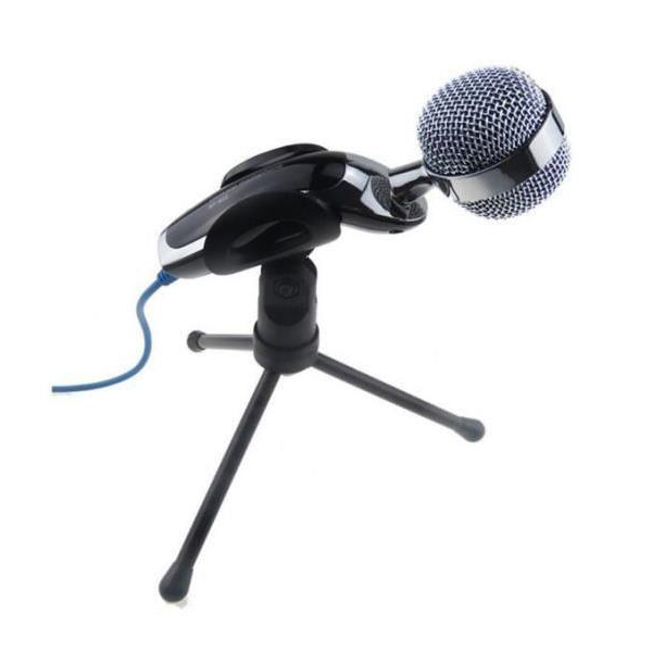 Top Deals Plastic Stainless Steel PC Microphone