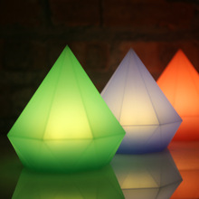 Multicolor Diamond LED USB Night Light Touch Sensor Tap Control Pat Silicone Soft Baby Kids Besdide Decor Lamp for Kid