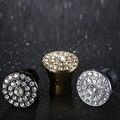 Cristal K9 bar punhos do armário Moderno simples gaveta porta do Armário alças puxa Alta-top Europeu embutidos funiture botões de diamante