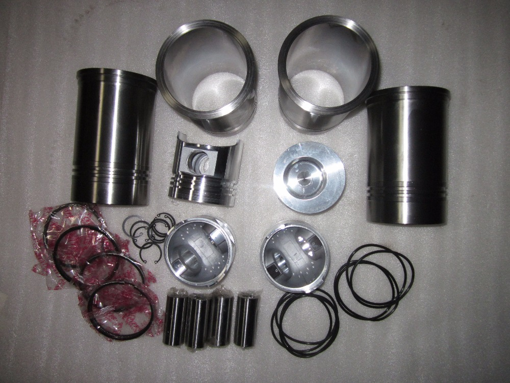 FUJIAN LIJIA SL4105ABT2 for tractor like Jinma series, the piston groups for engine laidong km4l23bt for tractor like luzhong series set of piston groups with gaskets kit including the cylinder head gasket