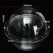 4 дюйма для дома и улицы CCTV Замена акриловая прозрачная крышка камеры наблюдения безопасности купольный протектор Корпус прозрачный чехол