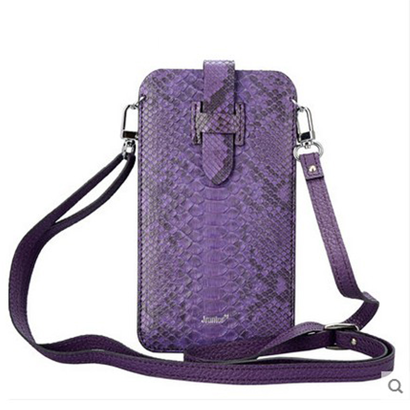jialante 2017new python leather vertical mobile phone women handbag female slant bag genuine mini  women bag jialante 2017 new lizard leather bag is made of simple small shell bag customized for 15 days