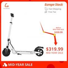 Бесплатный налог KUGOO S1 patinetas электрический скутер для взрослых 350 Вт 35 км/ч 8 дюймов максимальная нагрузка 120 кг против iscooter vs mi m365