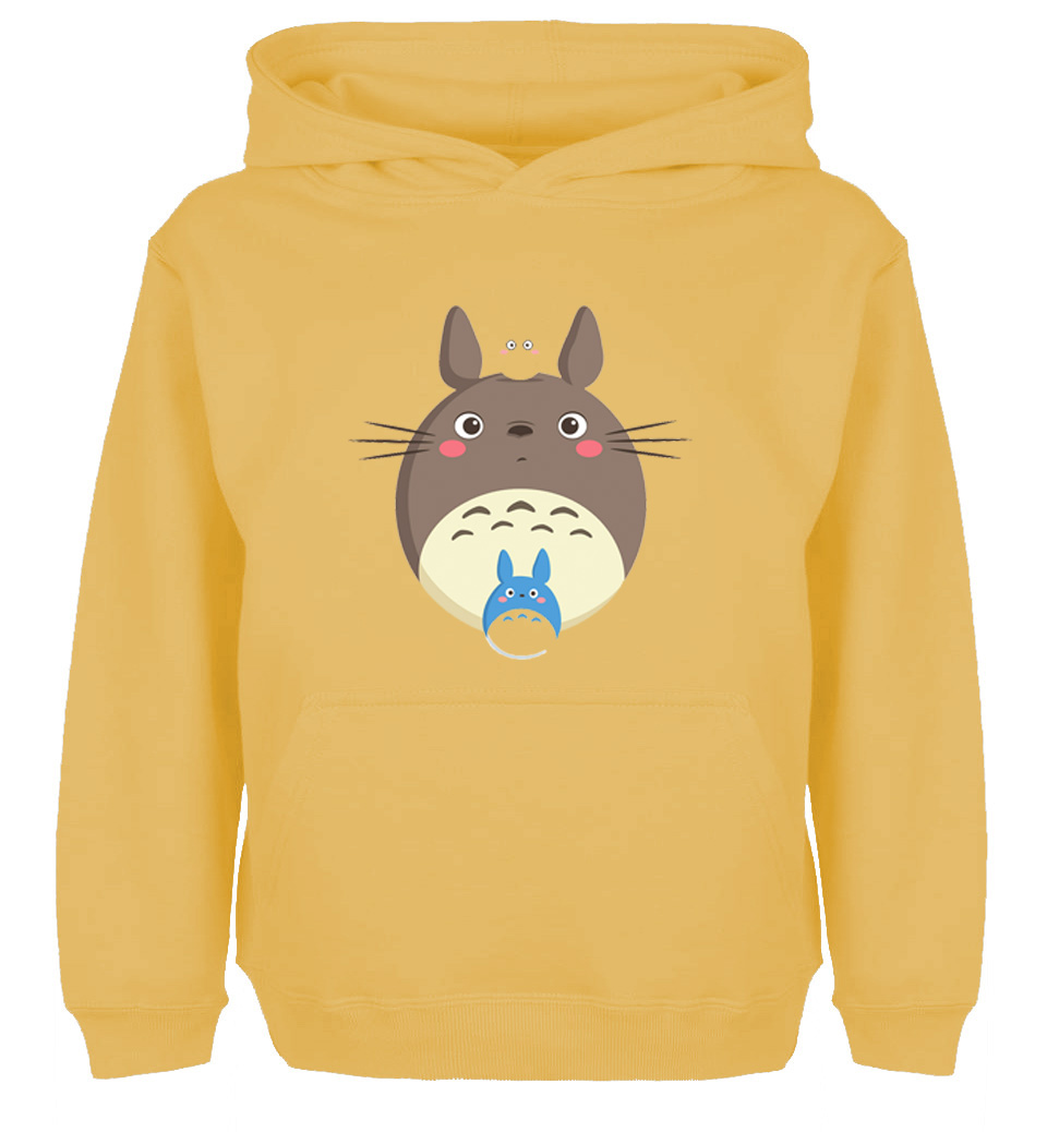 Lovely Cartoon My Neighbor Totoro Design High Quality Hoodie Mens Womens Winter Cotton