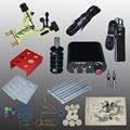 New Arrival 1 set Tattoo Kit Power Supply Gun Complete Set Equipment Machine Wholesale