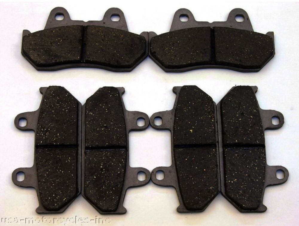 1 The set NEW BRAKE PADS Fits <font><b>HONDA</b></font> GOLDWING GL1500 VFR700 <font><b>CBR1000F</b></font> image