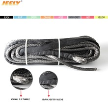 Wire-Cable Winch-Rope JEELY Uhmwpe Synthetic ATV of Braided Instead