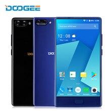 Doogee Mix 4G fingerprint smartphone 2 cámara trasera 16.0MP + 8.0MP 5.5 pulgadas Android 7.0 helio P25 OTCA Core 4 GB 64 GB teléfono móvil