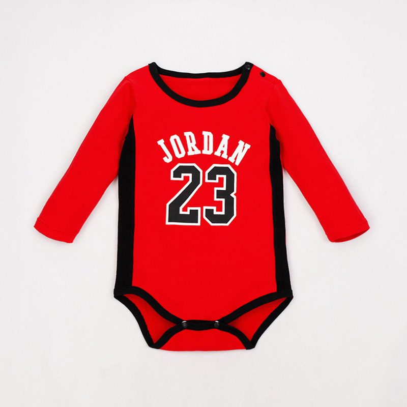 beaa02f4d92 Naughty Baby Basketball Clothes Jordan Baby Sport Body Baby Boy Clothes  Romper-in Rompers from Mother   Kids on Aliexpress.com
