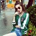 Fashion Women Jackets Casacos Femininos College Jackets Harajuku Style Women Jacket 2016 New Autumn Winter Jackets Free Shipping