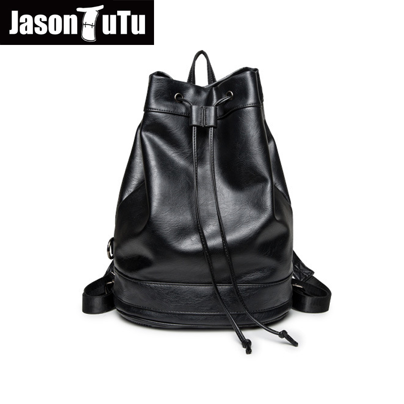 JASON TUTU leather backpack Black soft leather school bags for teenagers Travel backpack Aliexpress.com | Alibaba Group B249