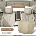 Auto Sitz Kopfstütze Maybach Design S Klasse Auto Neck Sitz Bequem Weiche Kissen Abdeckungen Einstellbare Auto Kissen Für Mercedes  benz|Nackenkissen|   -