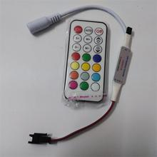 Best Price 21Key DC5V WS2811 IR LED Controller 63 Kinds Effects Led Pixel Controller For Led Strips  Full Color Led controller