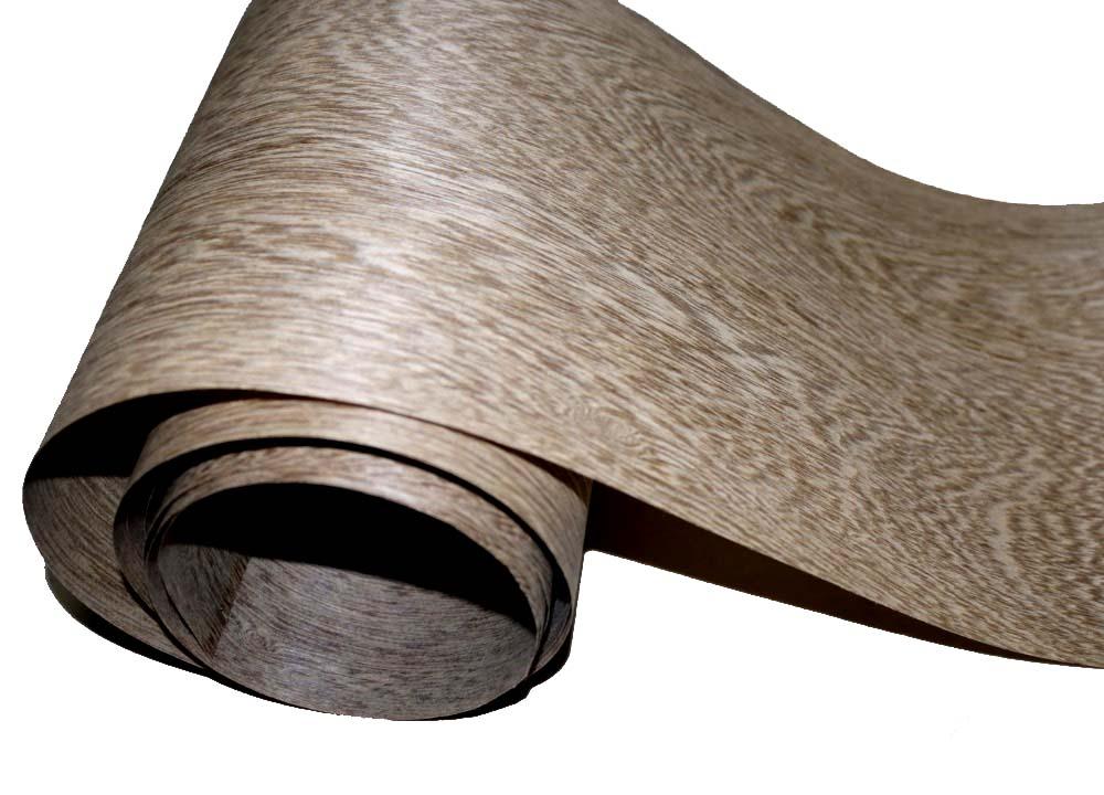 2Pieces/Lot  Length: 2.5 Meters   Width: 15cm  Coffee Grey Solid Wood Veneer