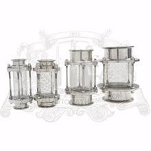 "Dioptr, anblick Turm, schauglas 3/4 ""-8"" (19mm-204mm), Edelstahl 304."