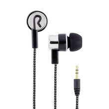 New Fashion Woven Fiber Cloth Wired Earphone ln-Ear Noise Cancelling Headset Universal 3.5MM for Mobile Phone Computer MP3 MP4