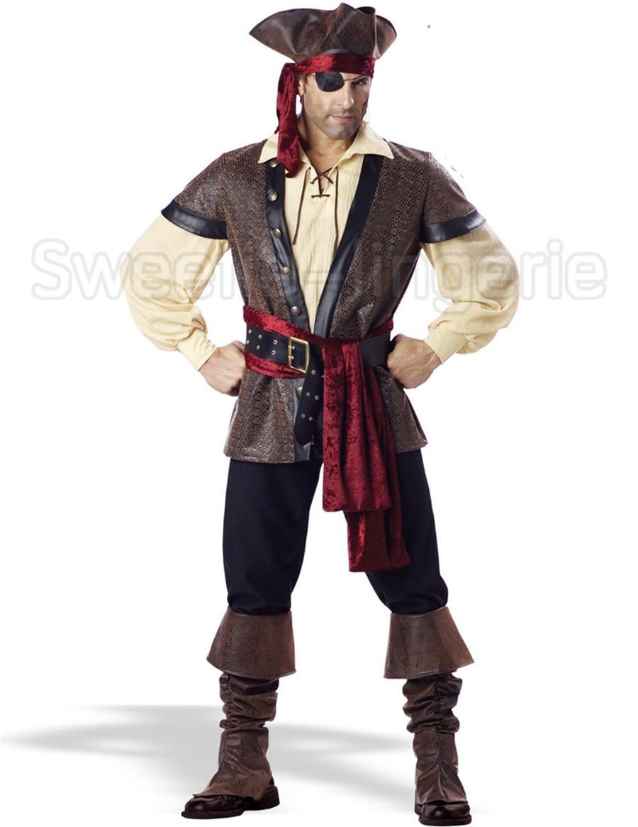 Popular Men Pirate Costumes-Buy Cheap Men Pirate Costumes lots ...