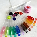 12 Colors Che Translucent  Glaze Gel Color Nail LED UV Builder Gel Nail Art Creative Manicure Set Decoration Tools