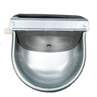 Stainless Steel Cattle Drinking Bowl Pig Horse Ox Lamb Floating Ball Drinking Bowl Automatic Water Fountain Breeding Equipment
