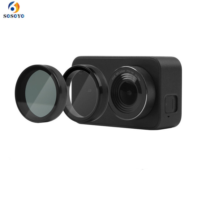 Lens UV CPL Filter For Xiaomi Mini MI Jia 4K Filtors Cover Lens Protective  For Xiaomi Mini MI Jia Sport Camera Accessories