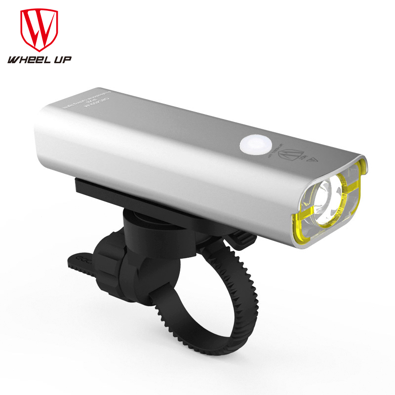 WHEEL UP Bike Light Cycling Front Lights Mountain Road Bike LED Light USB Headlamp Waterproof Night Cycling Accessories M3004 wheel up bike head light cycling bicycle led light waterproof bell head wheel multifunction mtb lights lamp headlight m3014