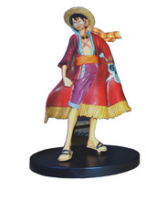 17cm Japanese anime figure one piece luffy action figure kids toys for boys girls collection toys A209