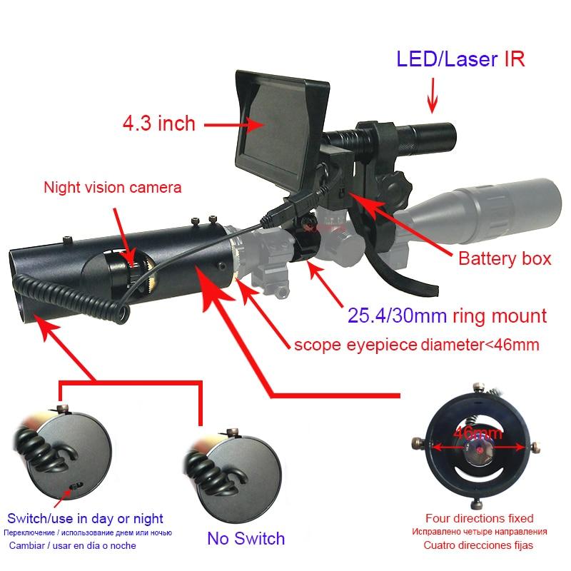 Hot Selling Upgrade Outdoor Jakt Optics Sight Tactical Digital - Jakt - Foto 2