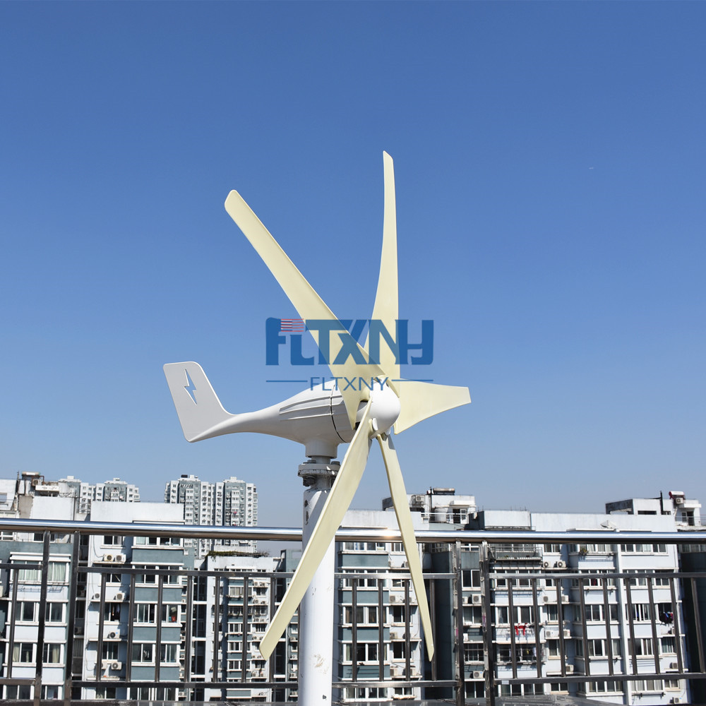 NEW ! 500W 12v wind turbine wind fans for wind solar hybrid system free shipping 600w wind grid tie inverter with lcd data for 12v 24v ac wind turbine 90 260vac no need controller and battery