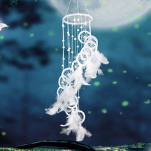 Get more info on the Indian White Dream Catcher Rope Feather Tassel Wedding Home Wall Hanging Decor HYD88
