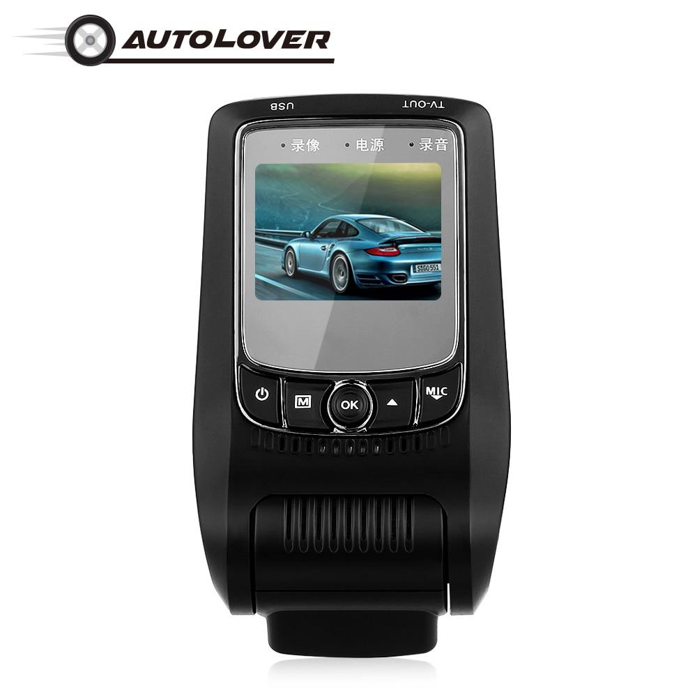 F150B WiFi Car Hidden Dash Cam camera DVR Novatek 96658 1080P HD 140 Degree WDR Night Vision Vehicle Driving Recorder detector