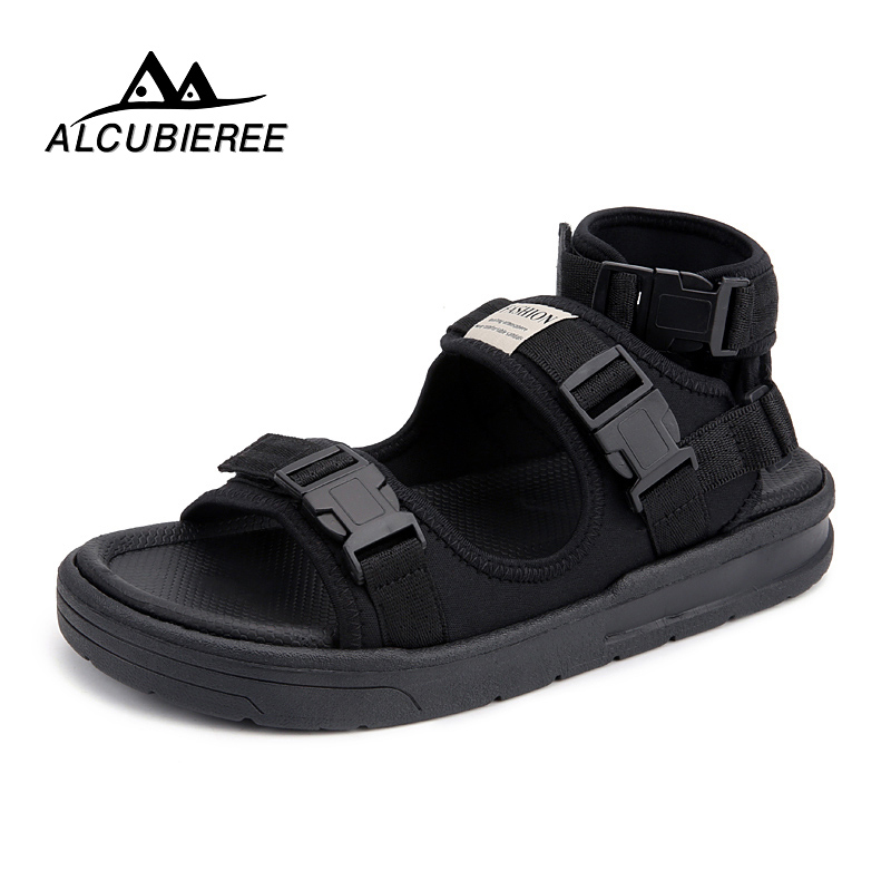 ALCUBIEREE Casual Shoes Men Sandals Canvas Breather Comfortable Men Shoes Summer Sapato Masculino