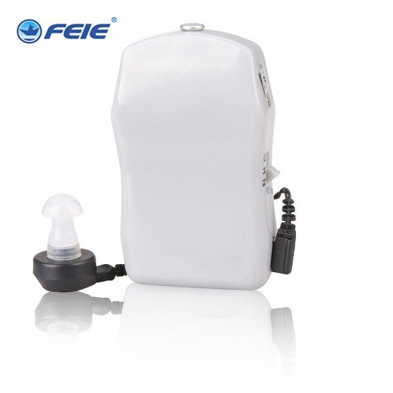 Body Worn Pocket Mini In Ear Hearing Aid Sound Amplifier Volume Adjustable Audiphone Loud Speaker Deaf Aid X-136