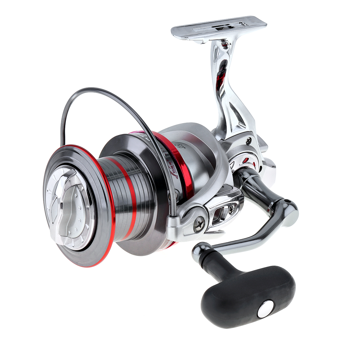 Durable Full Metal Spinning Fishing Reel 12000 Series 14+1 Ball Bearing Long Distance Surfcasting Wheel with Larger Spool ball bearing professional long distance casting spinning fishing reel surfcasting reel left right spinning reel