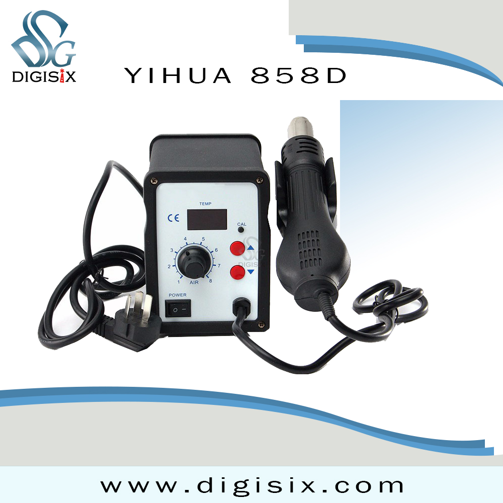 Yihua 858D Hot Air Gun Desoldering Soldering Rework SMD Station  Electric Soldering Irons термофен 858d smd