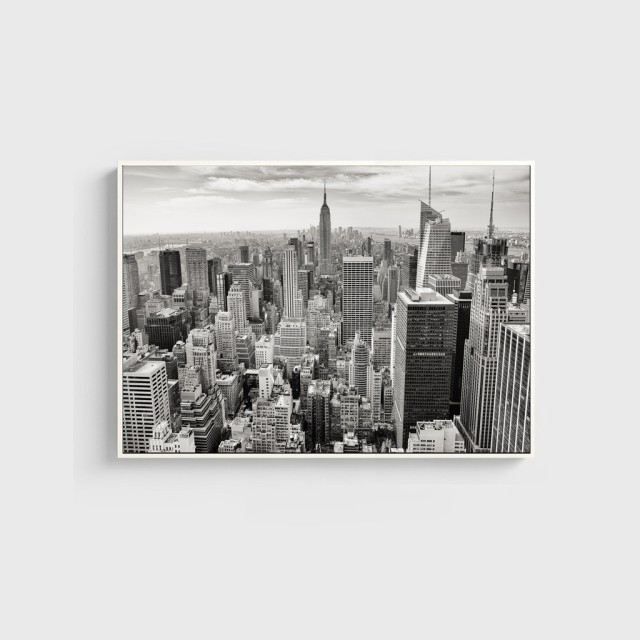 Online Shop No Frame New York City Photo Black White Poster Modern ...