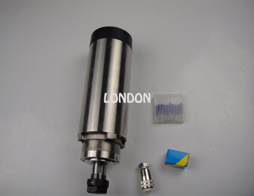 CNC broche kit ER20 2.2KW air de refroidissement broche + CNC gravure bits