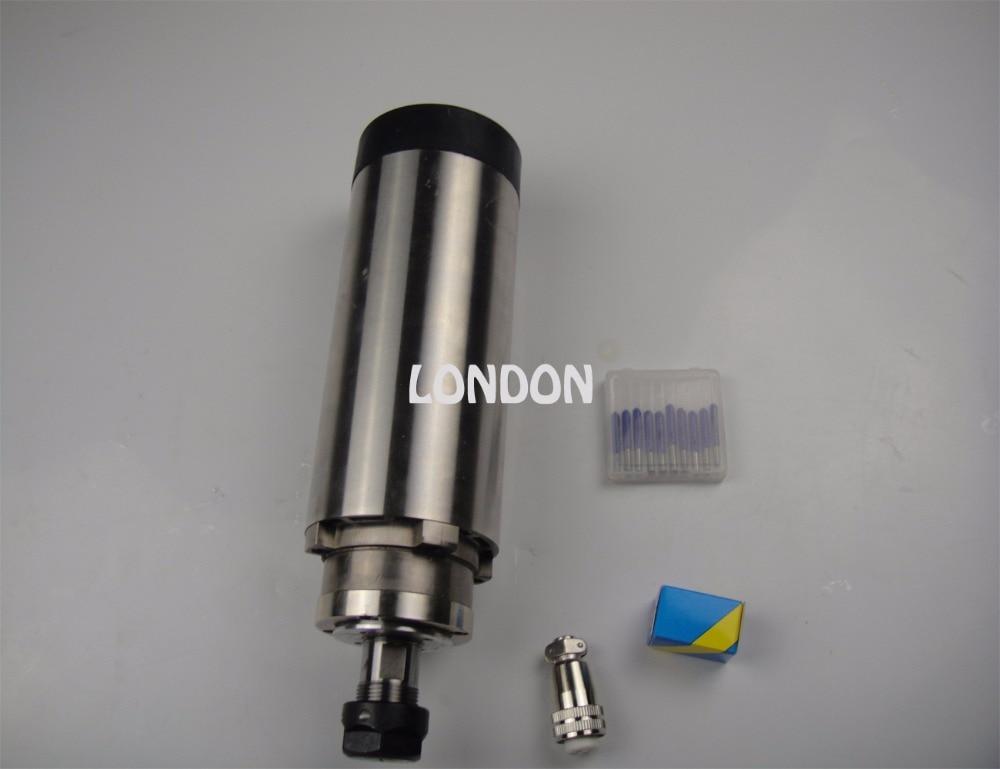 CNC spindle kit ER20 2.2KW air cooling spindle +CNC engraving bits