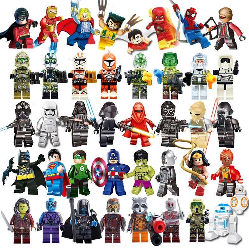 Best Justice League Toys And Action Figures For Kids : Compatible legoingly star wars marvel dc comics superhero