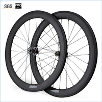 Carbon Wheels Clincher 60mm 700C Disc Brake Road Bike Carbon Wheelset 23mm Width
