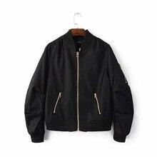2016 Autumn Flight army green bomber jacket women jacket and women's coat clothes bomber ladies zipper chaquetas