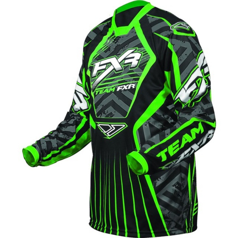 BLACK YELLOW XL WHITE ALLOY MX MOTOCROSS BIKE JERSEY SHIRT 04 SX GREEN